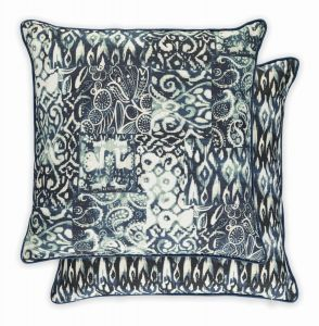 Keshia Indigo WYC04713X Cushion by William Yeoward