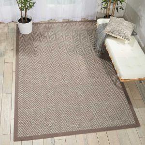 Nourison Kiawiah KIA01 Flannel Wool Rug