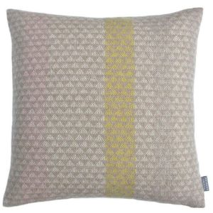 L'ancresse Striped Wool Cushion by Claire Gaudion
