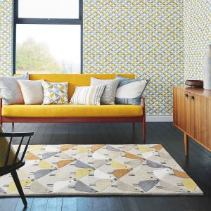 Lintu 24405 Dandelion Hand Tufted Wool Rug by Scion