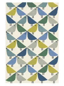 Lintu 24408 Pacific Hand Tufted Wool Rug by Scion
