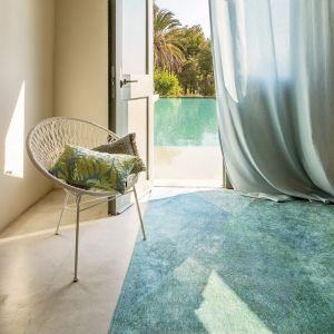 Lisboa 9053 Jade Green Designer Rug by Christian Fischbacher