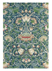 Lodden 27808 Indigo Mineral Hand Tufted Wool Rug by Morris & CO.