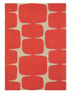 Lohko 25800 Poppy Hand Tufted Wool Rug by Scion