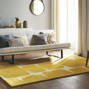 Lohko 25806 Honey Hand Tufted Wool Rug by Scion