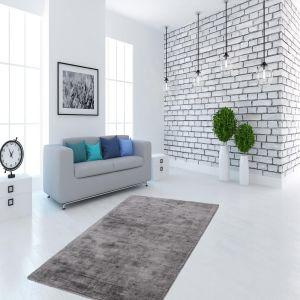 Luxury 110 Grey/Anthracite Rug by Kayoom