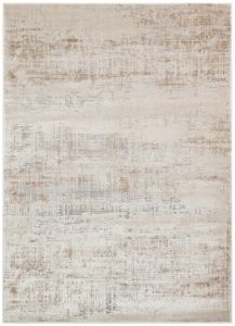 Luzon LUZ809 Ivory Taupe Grey Abstract Rug by Concept Looms