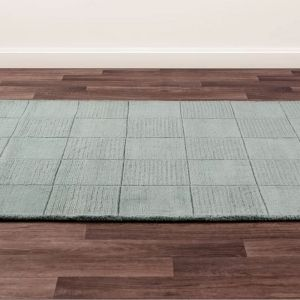 Madison Teal Wool Rug by Ultimate Rug