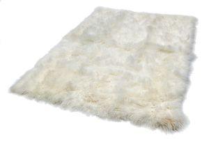 Mantra Pearl Plain Wool Rug by Katherine Carnaby