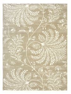 Mapperton 45901 Linen Hand Tufted Wool Rug by Sanderson