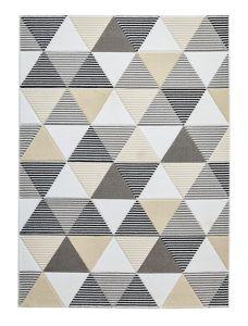 Matrix MT15 Grey Beige Rug by Think Rugs