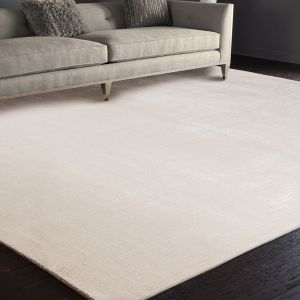 Mayfair MAY103 Oyster Pain Circle Handmade Rug by Nourison