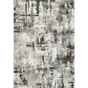 Mehari 023 - 02846258 Grey Abstract Rug by Mastercraft