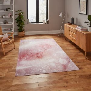 Michelle Collins OS0077 Rose Rug By Think Rugs