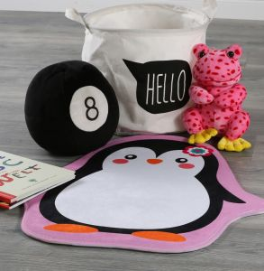 Mila MIK 144 Penguin Kids Rug by Obsession