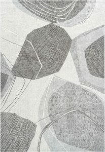 Milano 046-0006/6171 Taupe Abstract Rug by Mastercraft