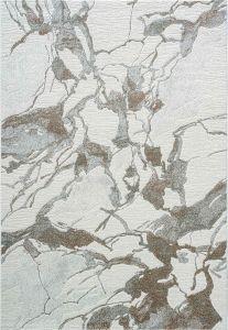 Milano 046-0014/6111 Grey Abstract Rug by Mastercraft