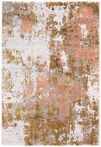 Moda 47127/GC700 Pink Abstract Rug by Mastercraft