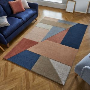 Moderno Alwyn Multi Wool Rug by Flair Rugs
