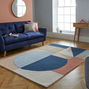 Moderno Esre Multi Wool Rug by Flair Rugs