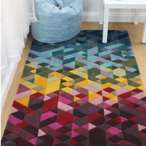 Illusion Kingston Multi Rug by Flair Rugs