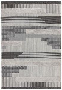 Monty MN05 Black Geometric Rug by Asiatic