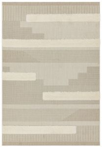 Monty MN06 Natural Geometric Rug by Asiatic
