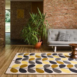 Multi Stem 061506 Wool Rug by Orla Kiely