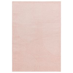 Muse MU17 Pink Abstract Rug by Asiatic