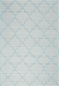 Newquay 096-0003 5001 96 Light Blue Flatwoven Rug by Mastercraft
