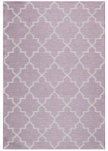 Newquay 096-0003 8007 96 Berry Flatwoven Rug by Mastercraft