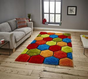 Noble House NH30782 Multi Rug by Think Rugs