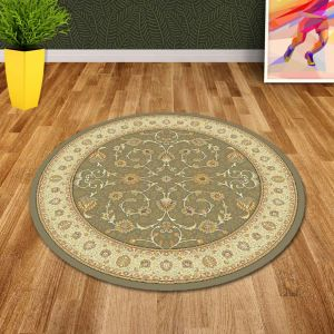Noble Art 6529 491 Traditional Circle Rug By Mastercraft