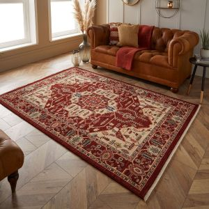 Nomad 1801 X Red Traditional Rug by Oriental Weavers