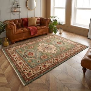 Nomad 532 L Green Traditional Rug by Oriental Weavers