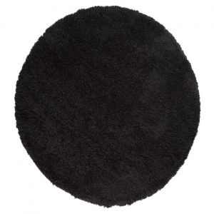 Nordic Cariboo Black Circle Rug By Flair Rugs