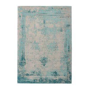Nostalgia 285 Turquoise Rug by Kayoom