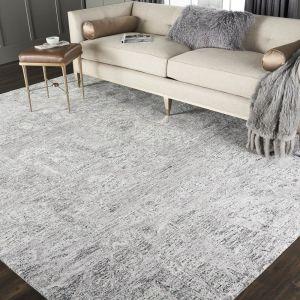 Nourison GEM03 Gemstone Hematite Wool Rug