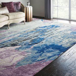 Nourison PRS11 Prismatic Grey Multicolor Wool Rug