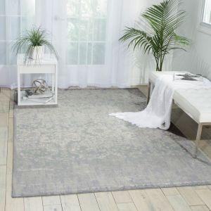 Nourison TWI05 Twilight Slate Wool Rug