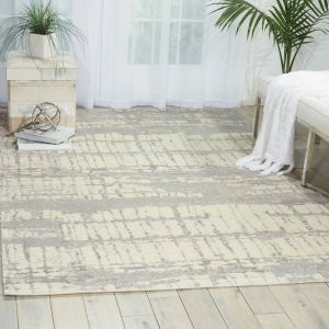 Nourison TWI10 Twilight Ivory Wool Rug