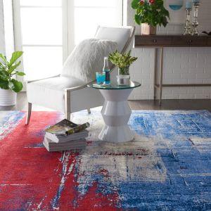 Nourison TWI19 Twilight Multicolor Wool Rug