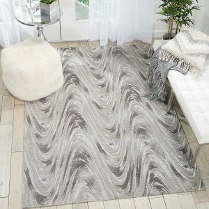 Nourison Organic Modern OM001 Glacier Rug