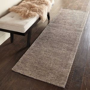 Nourison Weston WES01 Charcoal Runner