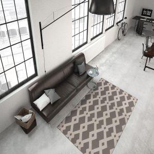 Now 100 Taupe Modern Rug by Kayoom