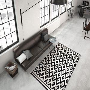 Now 300 Schwarz/White Modern Rug by Kayoom