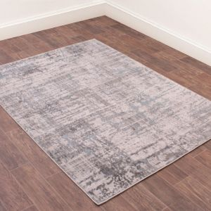 Odyssey Earth Blue Abstract Rug by Rug Style