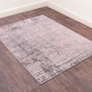 Odyssey Earth Pink Abstract Rug by Rug Style