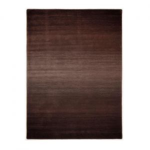 Ombre - Choco 503 Wool Comfort Harmony Rug by Theko