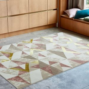 Orion OR10 Flag Pink Rug by Asiatic